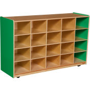 Green Apple Twenty Tray Storage without Trays