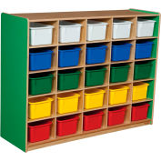Green Apple 25 Tray Storage with Assorted Trays