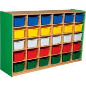 Green Apple 30 Tray Storage with Assorted Trays