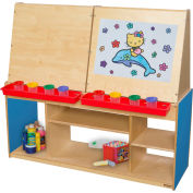 Wood Designs™ Blueberry Art Center For Four