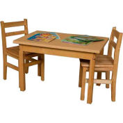 """Wood Designs 48"""" x 24"""" Rectangle High Pressure Laminate Activity Table with Hardwood Legs 20"""""""