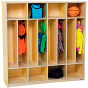 Eight Section Space-Saver Locker