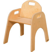 """Wood Designs™ Woodie, 13"""" Seat Height, Packed One Per Carton"""
