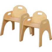 """Wood Designs™ Woodie, 13"""" Seat Height, Carton of Two"""