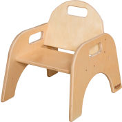 """Wood Designs™ Woodie, 7"""" Seat Height, Packed One Per Carton"""