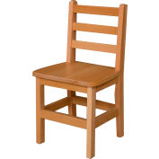 "Wood Designs™ 14"" Seat Height Hardwood Chair, Packed One Per Carton"