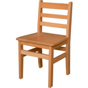 """Wood Designs™ 16"""" Seat Height Hardwood Chair, Packed One Per Carton"""