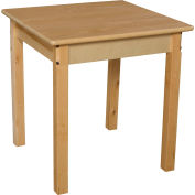 "Wood Designs™ 24"" Square Table with 24"" Legs"