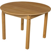 "Wood Designs™ 36"" Round Table with 22"" Legs"