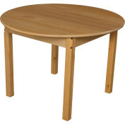 """Wood Designs™ 36"""" Round Table with 24"""" Legs"""