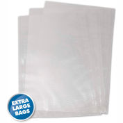 "Vac Sealer Bags, 15"" x 18"" (XL), 100 count"