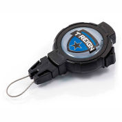 """T-Reign Outdoor Retractable Gear Tether 0TRG-432 - Large 48""""Extention Black Belt Clip"""