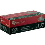 PosiShield™ 7 Mil Powder Free Industrial Grade Latex Gloves, White, X-Large, 100/Box