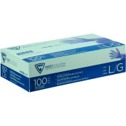 PosiShield™ 3 Mil Powder Free Food Grade Nitrile Gloves, Blue, Large, 100/Box