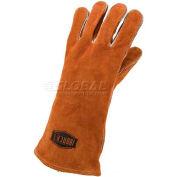 Ironcat Select Shoulder Split Cowhide Welding Gloves, Brown, Large, Left Hand Only - Pkg Qty 24