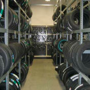 Tire Rack Single Entry 2 Tier-Adder