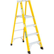 Green Bull Series 2072 Fiberglass Platform Ladder - 8' 207208
