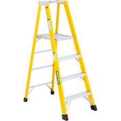 Green Bull Series 2072 Fiberglass Platform Ladder - 12' 207212