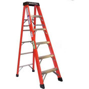 Green Bull Series 2114 Fiberglass Stepladder - 12' 211412