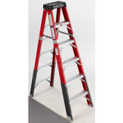 Green Bull Series 2232 Fiberglass Stepladder - 5' 223205