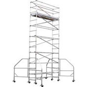 Werner Narrow Span 10'x18' Scaffold Tower - 4103-18