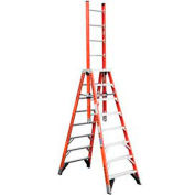 Werner 8' Type 1A Fiberglass Extension Trestle Ladder E7408