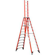 Werner 12' Type 1A Fiberglass Extension Trestle Ladder E7412