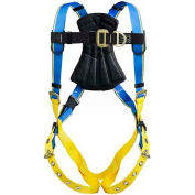 Werner® Blue Armor 1000 Climbing Harness, Tongue Buckle Legs, M/L