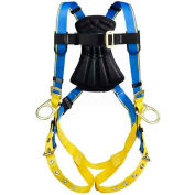 Werner® Blue Armor 1000 Positioning Harness, Tongue Buckle Legs, M/L