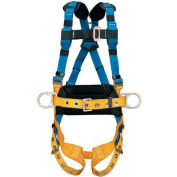 Werner® H332105 LITEFIT™ Construction Harness, Tongue Buckle Legs, 2XL