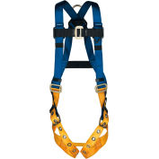 Werner® H412002XC311100 BaseWear Standard Harness With 6' DeCoil Lanyard