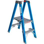Werner 2' Type 1 Fiberglass Platform Ladder PT6002