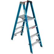 Werner 4' Type 1 Fiberglass Platform Ladder PT6004