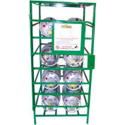 "8 Capacity Propane Cylinder, Propane Cage, 33""W x 36""D x 70""H"