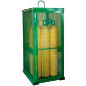 "12 Cylinder Capacity, Movable High-Pressure Stationary Cylinder Cage, 33""W x 42""D x 85""H"