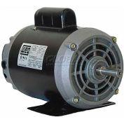 WEG Fractional Single Phase Motor, 00118OS1BD56CFL, 1HP, 1800RPM, 115/208-230V, D56C, ODP