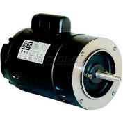 WEG Jet Pump Motor, 00136ES1BJP56J, 1 HP, 3600 RPM, 115/208-230 Volts, TEFC, 1 PH
