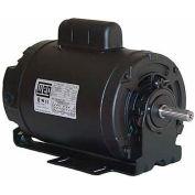 WEG Compressor Duty Motor, 00136OS1BCDB56, 1 HP, 3600 RPM, 115/208-230 Volts, ODP, 1 PH
