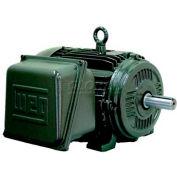 WEG General Purpose Single Phase Motor, 00152ES1E182T, 1.5HP, 1200RPM, 208-230/460V, 182T, TEFC