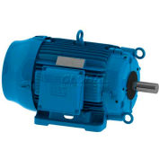 WEG Cooling Tower Motor, 00152ET3ECT182T-W22, 1.5 HP, 1200 RPM, 208-230/460 Volts, 3 Phase, TEFC
