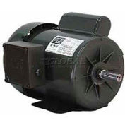 WEG General Purpose Single Phase Motor, 00156ES1B143T, 1.5HP, 3600RPM, 115/208-230V, F143/5T, TEFC