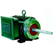 WEG Close-Coupled Pump Motor-Type JP, 00156ES1E143JP, 1.5 HP, 3600 RPM, 208-230/460 V, TEFC, 1 PH