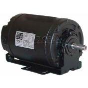 WEG Fractional Single Phase Motor, 00156OS1BRBOD56, 1.5HP, 3600RPM, 115/208-230V, D56, ODP
