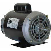 WEG Fractional Single Phase Motor, 00158OS1BF56C, 1.5HP, 1800RPM, 115/208-230V, F56HC, ODP