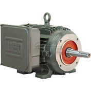 WEG Close-Coupled Pump Motor-Type JM, 00218ES1E145JM, 2 HP, 1800 RPM, 208-230/460 V, TEFC, 1 PH