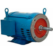 WEG Close-Coupled Pump Motor-Type JM, 00536OP3E182JM, 5 HP, 3600 RPM, 230/460 V, ODP, 3 PH