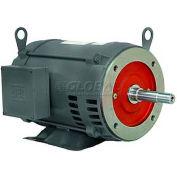 WEG Close-Coupled Pump Motor-Type JM, 00718ES1C215JM, 7.5 HP, 1800 RPM, 208-230 V, TEFC, 1 PH