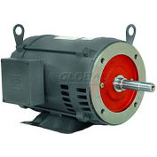 WEG Close-Coupled Pump Motor-Type JM, 00718ES1E215JM, 7.5 HP, 1800 RPM, 208-230/460 V, TEFC, 1 PH