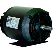 WEG Fractional Single Phase Motor, .2518OS1BSPB48C, 0.25HP, 1800RPM, 115/208-230V, B48C, ODP