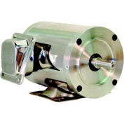 WEG SHARK™ Wash Down Duty, .3318EP3ESS56CFL, 0.33 HP, 1800 RPM, 208-230/460 Volts, TEFC, 3 PH